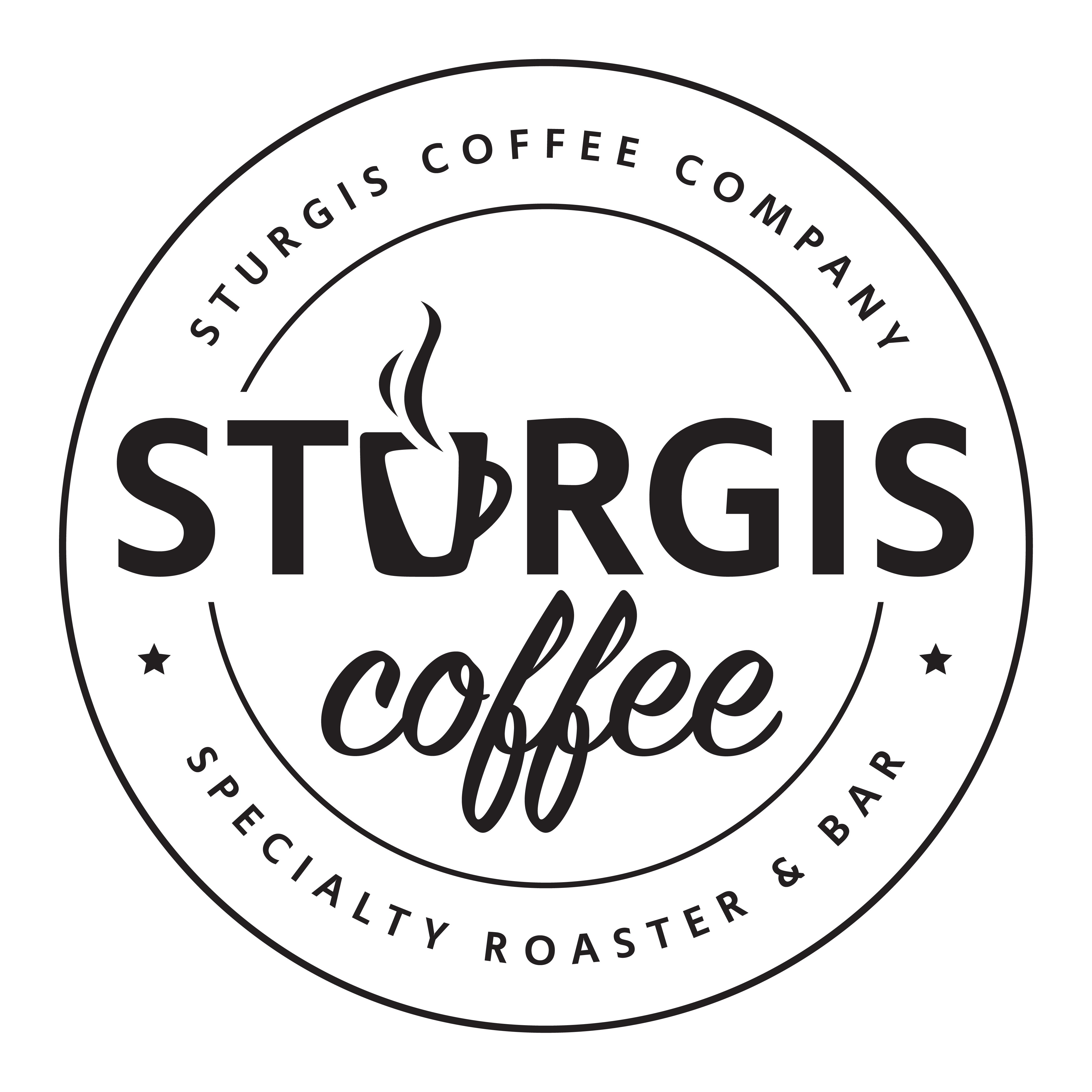 Sturgis Coffee Company. South Dakota Premium Gourmet Coffee